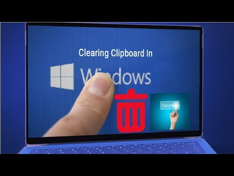 How to Clear Clipboard in Windows 10, 8.1 & 7