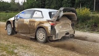 WRC Toyota Yaris Latvala Test (Pure Sound) Full HD