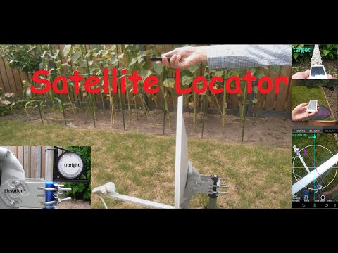 Satellite Locator with Google Earth