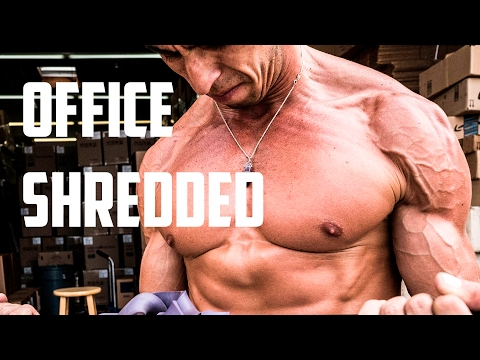 OFFICE SHREDDED! Workouts that can be done anywhere