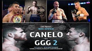 MORE FIGHTS ADDED TO SAUL CANELO ALVAREZ vs GENNADY GGG GOLOVKIN 2 EVENT!!