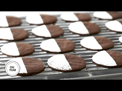 Chocolate Slice Cookies | Oh Yum With Anna Olson