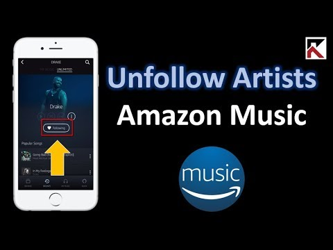 How To Unfollow Artist Amazon Music
