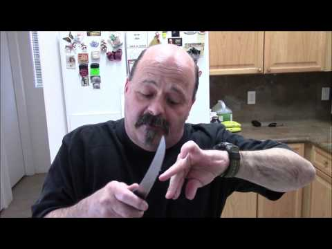 Knife Sharpening How To Use A Sharpening Steel: How To Find The Correct Honing Sharpening Angle