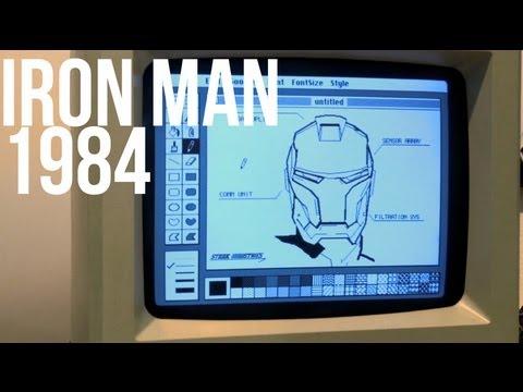 1984 Starkintosh Iron Man Speedpaint