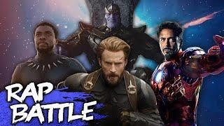 Avengers: Infinity War Rap Battle | #NerdOut ft DaddyPhatSnaps, Dan Bull, JT Music & More