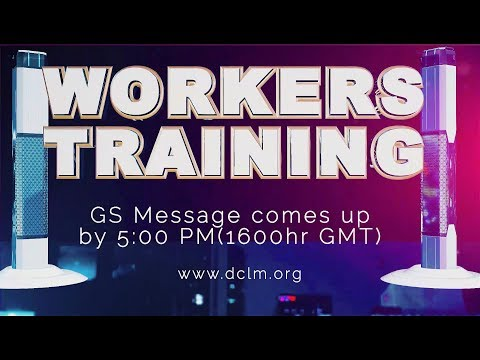 Workers' Training - (Lekki) The Promise, the Power and the Purpose of Pentecost