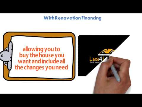 Renovation Financing: Add a Renovation  Loan to Your First Mortgage Purchase or Refinance