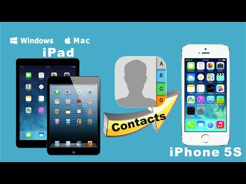 [iPad to iPhone 5S: Contacts Transfer] Sync Contacts from iPad/iPad Mini/iPad Air to iPhone 5S