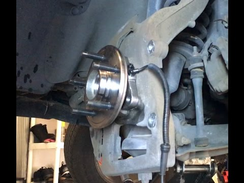 2003 Ford Explorer 4.0L front wheel bearing