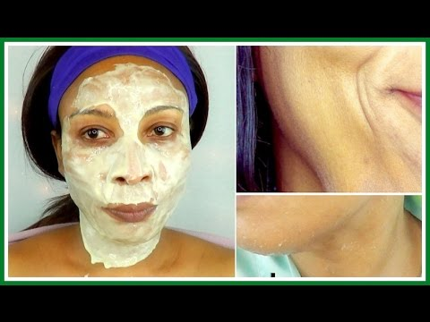 HOW TO GET RID OF DOUBLE CHIN, SAGGING JAWLINE AND LOOSE SKIN, INSTANT FACE LIFT |Khichi Beauty
