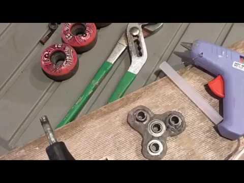 How to make DIY Homemade Fidget Spinners