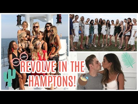 WEEKEND IN THE HAMPTONS! Outfits & more!