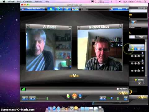 ooVoo Sample Call