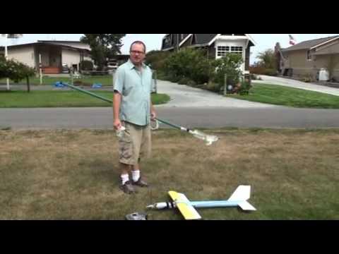 Pool Noodle RC Plane Flies Great!