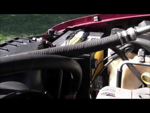 1997 Chevy Blazer 4 3L Battery Removal