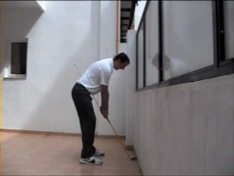 Golf tips - Andy Gordon Golf Instruction- Swing Plane practice at home