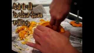 How To Carve A Scary Halloween Pumpkin