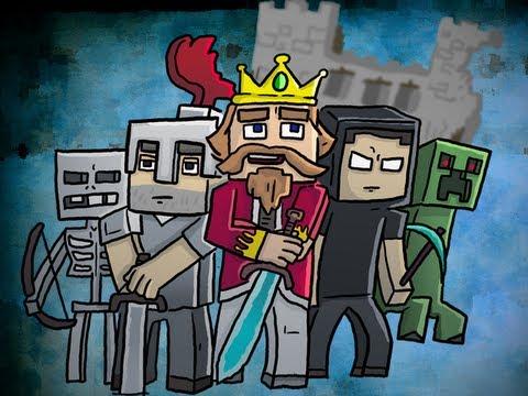 Fallen Kingdom Inspired Minecraft Speed Art By Chewtoons