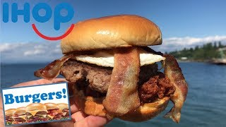 IHOP Big Brunch Burger | Beach Food Review
