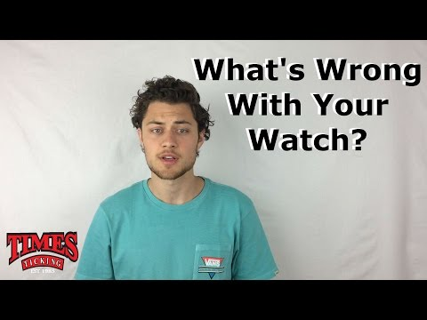 Reasons Behind Why Your Watch Stopped Working