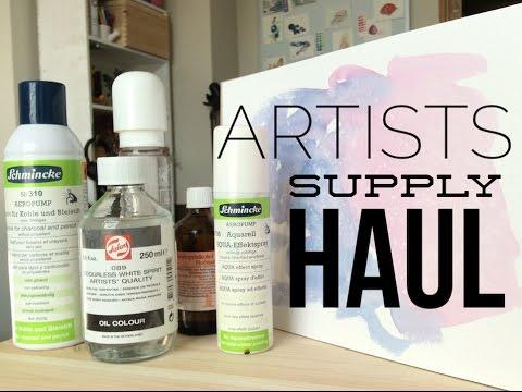 Watercolor Art Supplies Haul
