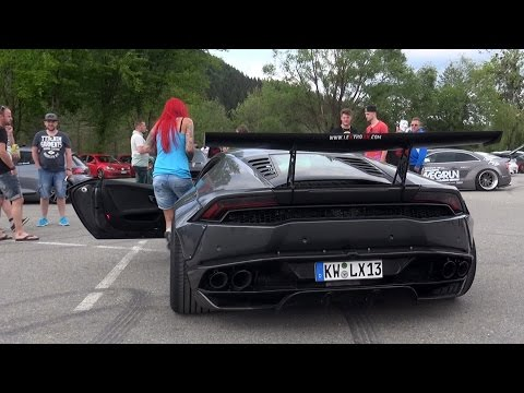 Xxx Mp4 HOT PORNSTAR GIRL Driving Her Liberty Walk Lamborghini Huracan 3gp Sex