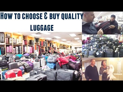How To Choose & Buy Quality Luggage For Your Next Trip | Travel Tips