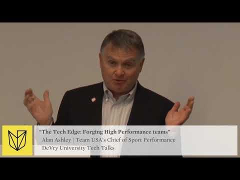 DeVry University Tech Talk: USOC Team USA - Forging High Performance Teams - Data and Insight
