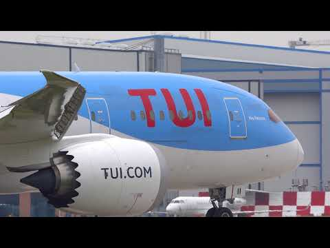 Manchester Airport 8th June 2018 8/6/18 Part 2 4K