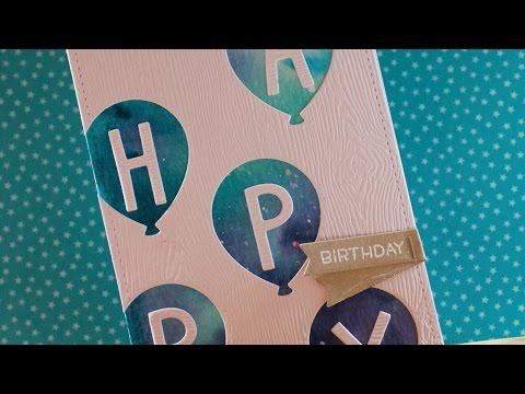 How to make a cute and simple birthday card