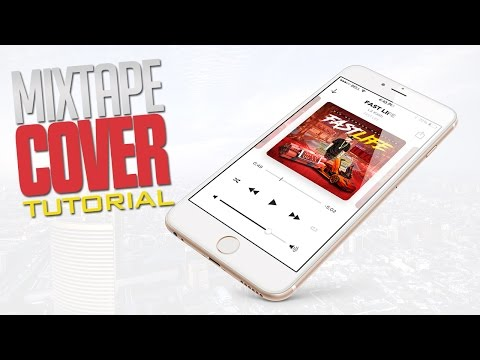 How to create a mixtape cover part 4 (Texts and Fonts)
