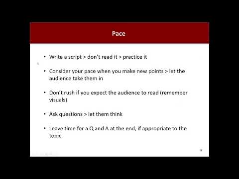 JWMI 505: Assignment 3 Workshop (Zoom Video with Slide Presentation)