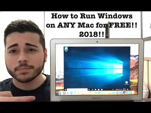 [2018] How to Run Windows 10 on Mac for FREE!! ANY MacOS Version!!