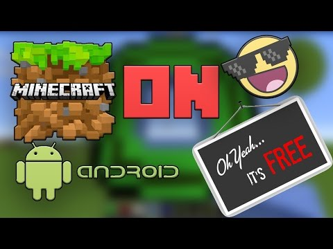How to Download Minecraft Pocket Edition for free(Android) - Easy and Free