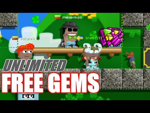 Growtopia | HOW TO GET UNLIMITED FREE GEMS! (NO HACKS!!)😱😱