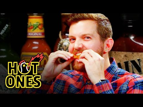 Xxx Mp4 Dillon Francis Hurts His Body With Spicy Wings Hot Ones 3gp Sex