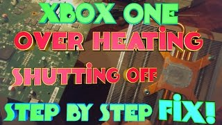 XBOX One Overheating Repair: How to remove the X-Clamp and