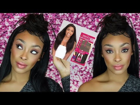 INNOVATIVE NEW HAIR FROM JANET COLLECTION! TRIPLE X 1 PACK SOLUTION HONEST REVIEW