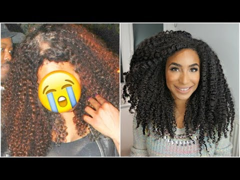 Top 5 tips for thickening hair and regrowing edges | Stop shedding