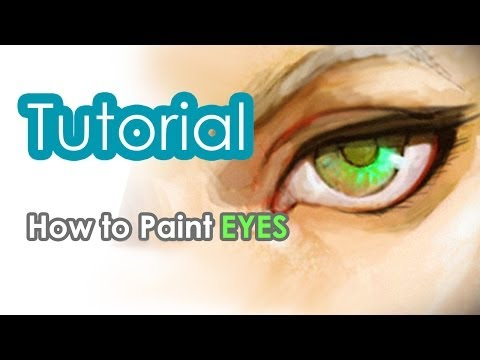How to Draw Eyes in Photoshop