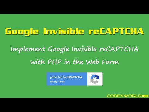 Google Invisible reCAPTCHA with PHP