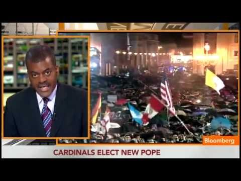 New Pope Francis I Elected as White Smoke Rises Over Vatican