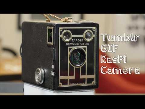 Raspberry Pi GIF Camera // Becky Stern