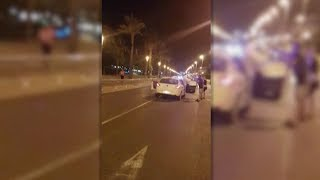 Footage: A terror suspect was shot dead by Spanish police