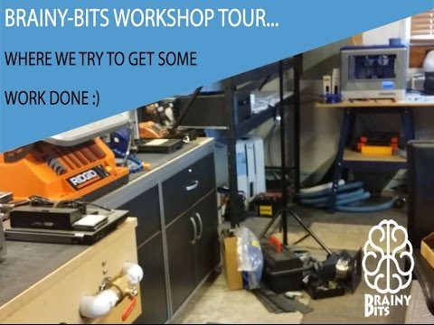 A Quick tour of the Brainy-BIts Workshop, where we try to get some work done :)
