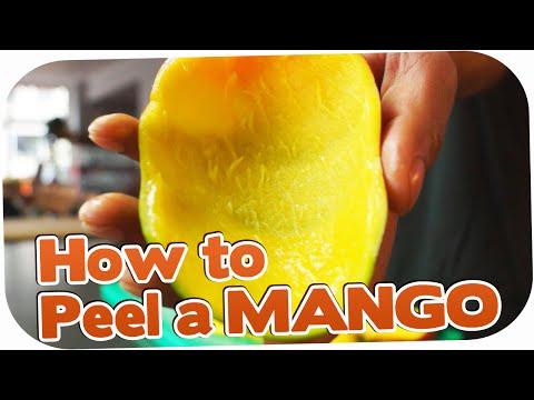 Life Hack - Fastest way to peel a Mango