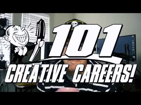 101 CREATIVE Careers and Job ideas for Young Artists!