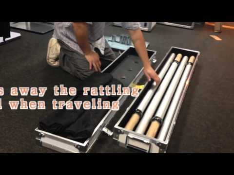 Pipes and Drapes Road Case