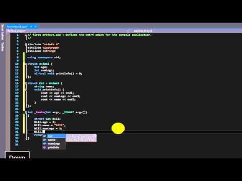 Beginner C++ tutorial 35 (structures)